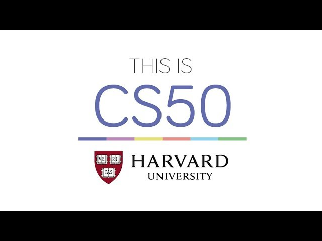 CS50's Introduction to Computer Science