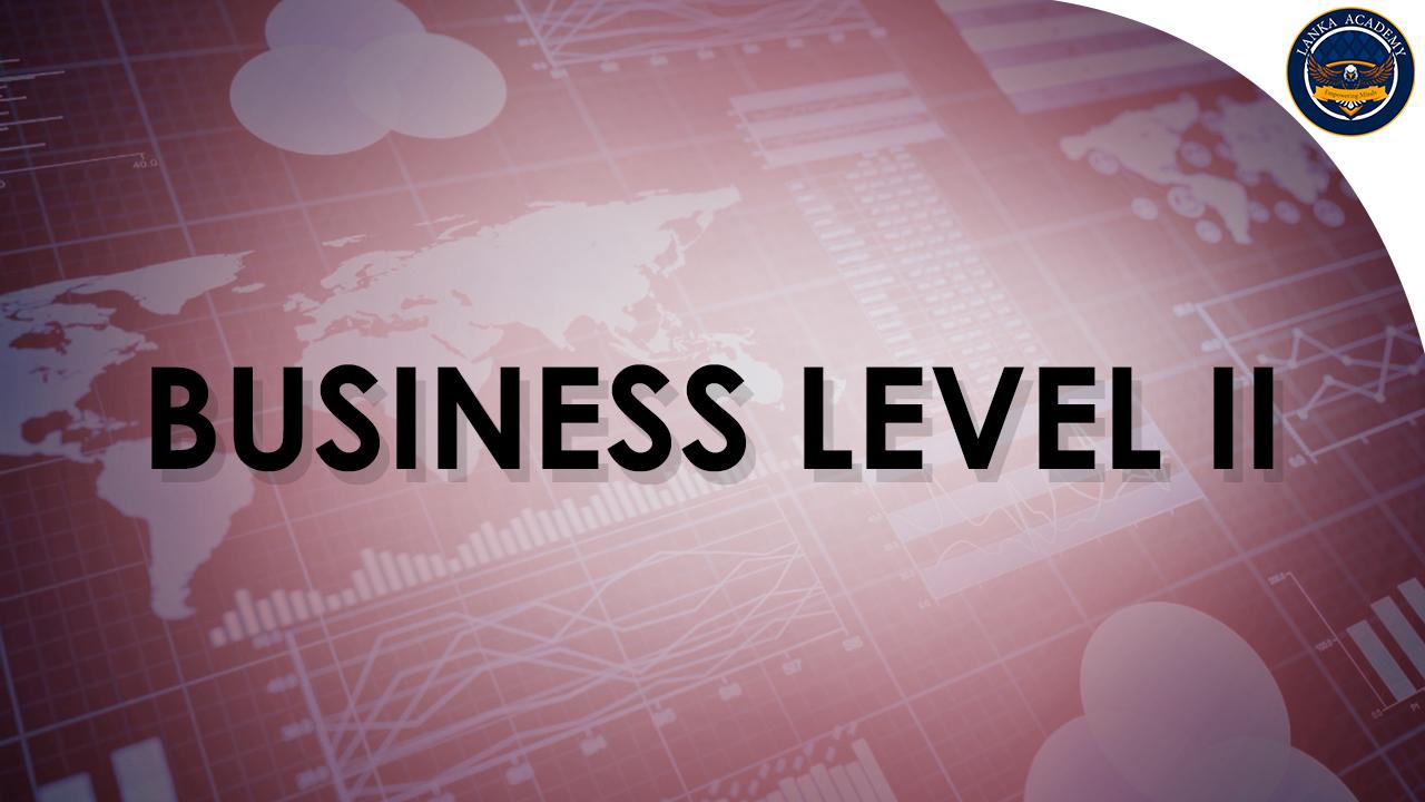 Business Level II