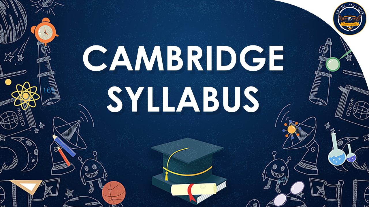 Cambridge Syllabus